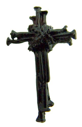 Nails of The Cross 1 1/2 Inch Resin Lapel Pin