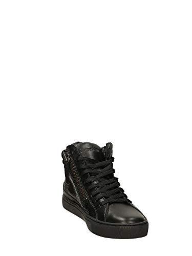 Crime Altas 25140aa1 Negro London Zapatillas Mujer qSRq8ZwBx