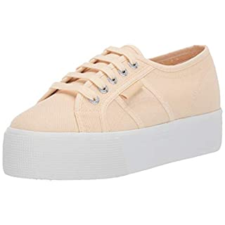 Superga womens 2790 Acotw Platform Fashion Sneaker, Beige Ecru, 9.5 US
