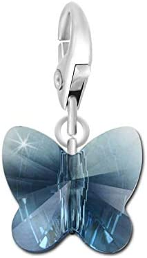 SC Crystal Charms pour Femme en m/étal rhodi/é
