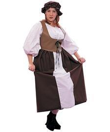 Renaissance Peasant - Female, X-Large (XL) Costume (2)