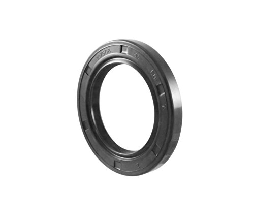 Oil Seal and Grease Seal TC 40X60X7 Rubber Double Lip with Spring 40mmX60mmX7mm by EAI Parts