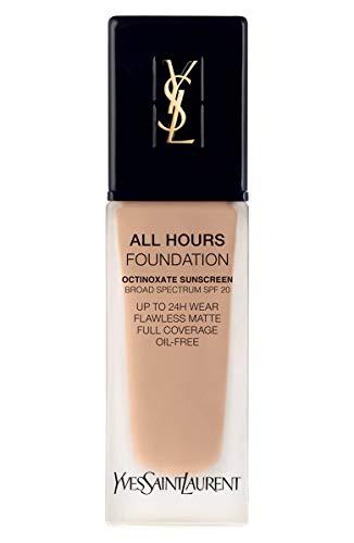 (YVES SAINT LAURENT All Hours Full Coverage Matte Foundation SPF 20 25ml # B30 Almond)