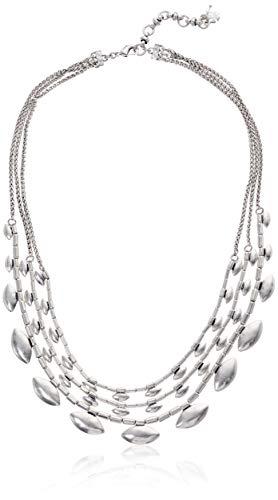 Lucky Brand Women's Silver Scallop Collar Necklace, Silver, One Size (Lucky Brand Jewelry Necklace)