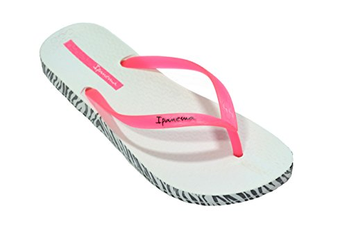 Soft Pink Brazil white Caucciù In Donna Infradito Made Ipanema wFTBRq6x