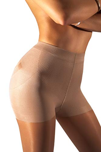 728bd46eeb1fc sofsy High Waisted Slimming Tights For Women - Shaping Semi Sheer Pantyhose  | 30 Den [