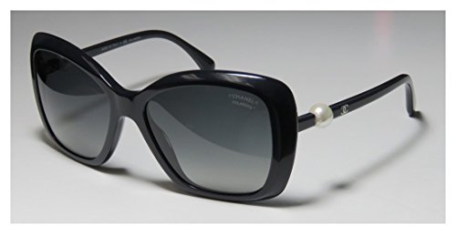 6f34621fffff  530 Chanel Black Sunglasses White Pearl Square A71074 5303h - Buy Online  in Bahrain.