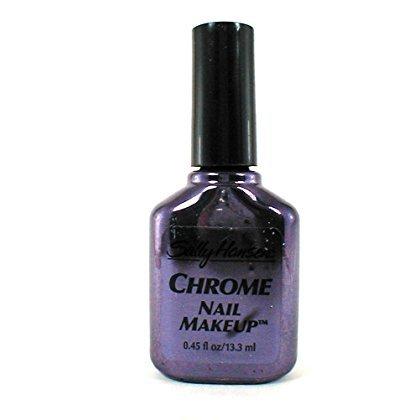 Sally Hansen Chrome Nail Makeup Polish #56 Blue Sapphire