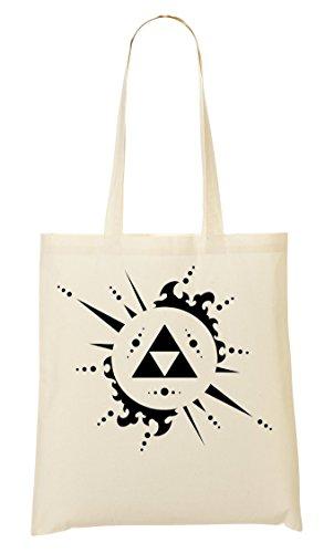 À Triangle Fourre Sac Zelda Sac Legend Tout Provisions Of Triforce qtU88X