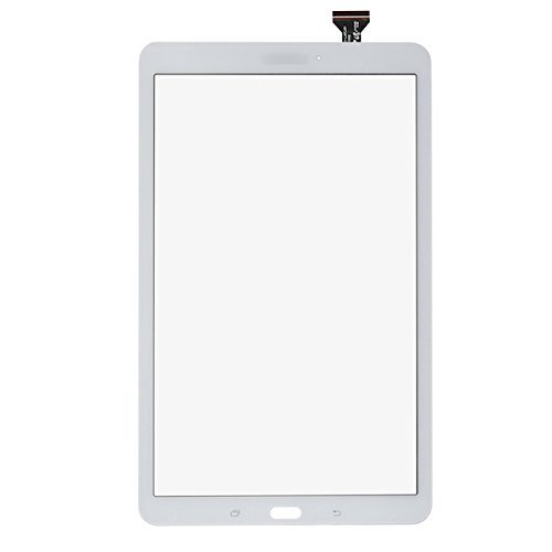White Display Touch Screen Digitizer Glass Replacement for Samsung Galaxy Tab E 9.6 SM-T560 T560 T561(No LCD) with Adhesive and Tools