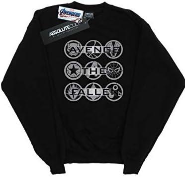 Marvel Herren Avengers Endgame Avenge The Fallen Icons Sweatshirt Schwarz XXXXX-Large