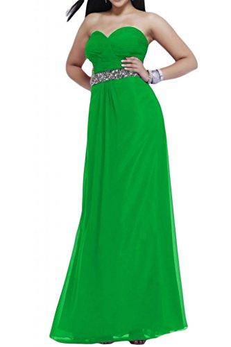 Toscana noche de novia Mode estrellas forma de corazón Noche de gasa Vestidos Largo novia Party Ball Ropa Verde