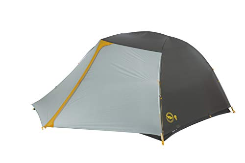 Big Agnes Tiger Wall UL3 mtnGLO Ultralight Backpacking Tent, 3 Person, -
