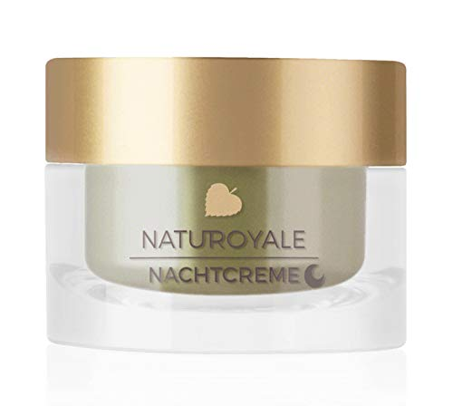 ANNEMARIE BÖRLIND – NATUROYALE Night Cream – Natural Anti Aging Face Cream – Retinol, Vitamin C + E for a Fresher, Smoother and Tighter Skin with a New, Youthful Glow – Step 4 of 5 – 1.69 oz.