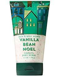 (Bath & Body Works Vanilla Bean Noel 6.2 Oz Funfetti Body Scrub, 6.2 Ounce)