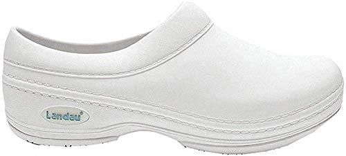 Landau Unisex Moisture-Wicking Clog Shoe, WHITE, M11