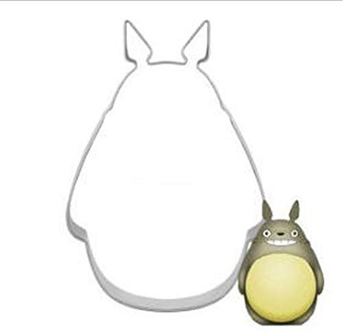 Cute Totoro Cake Mould for Fondant Confectioner Biscuit Stamp Cookie Cutter Tools Form Stainless Steel Metal Bakeware DZ192
