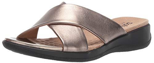 SoftWalk Women's Tillman Sandal Bronze 9.0 M US from SoftWalk