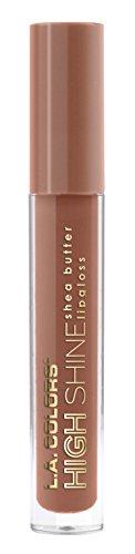 Shine Lip High Color (L.A. Colors High Shine Shea Butter Lip Gloss, Dollface, 0.14 Ounce)