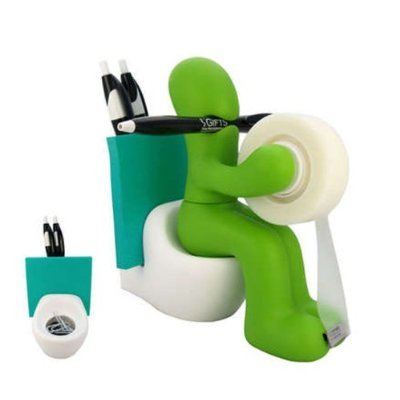 FUNNY GIFT! Supply Station Desk Accessory Holder by KitoDesign
