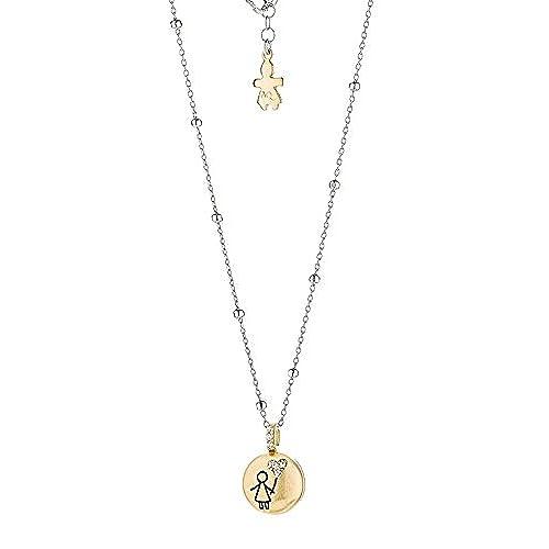 7d5597747ddf Collar con colgante puerta Dentino bebé niña de plata 925 Le Ref. q1214867  Lovely