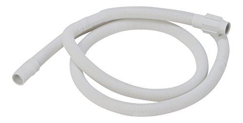 DREHFLEX® - Ablaufschlauch / Schmutzwasserschlauch / Schlauch passend für diverse Geschirrspüler / Spülmaschinen von Bauknecht / Whirlpool / Ignis / Ikea etc. - passend für Teile-Nr. 481253029113