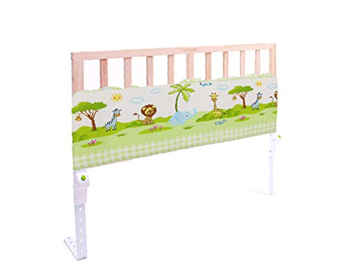 Solid Wood 120cm Bed Rails,Multi-Gear Switching/Foldable Bed Baffle   Baby Shatter-Resistant Fence (Color : Style2)