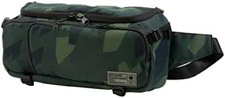 Hex Ranger DSLR Sling, Black, with Adjustable Carry Straps, Collapsible Interior Dividers & More, Camo