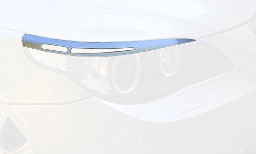 Scheinwerferblenden 5-Serie E60/E61 Limousine/Touring 2003-2010 (ABS) RDX-Racedesign RDSB101