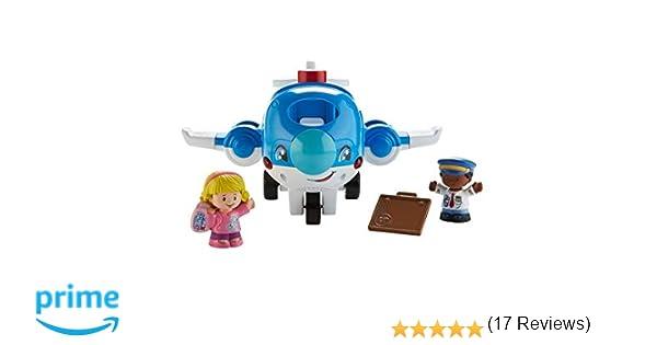 Little People Avión Viaja Conmigo, Juguetes Bebés 1 Año (Mattel ...