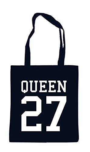 Queen 27 Bag Black