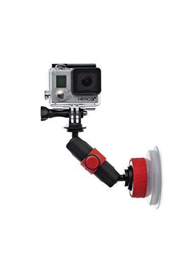 JOBY Suction Cup with Locking Arm for GoPro HERO6 Black, GoPro HERO5 Black, GoPro HERO5 Session, Contour and Sony Action Cam