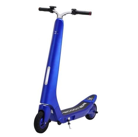 Trottinette électrique Bluetooth, LG, pliable bleu: Amazon ...