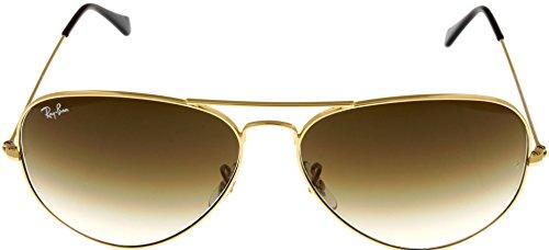 Ray Ban Sunglasses Mens Aviator Large Metal Gold RB3025 001/51 62