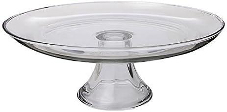 Anchor Hocking 12-Inch Glass Cake Plate Tiered by Fox Run Craftsmen  sc 1 st  Amazon.com & Amazon.com | Anchor Hocking 12-Inch Glass Cake Plate Tiered by Fox ...