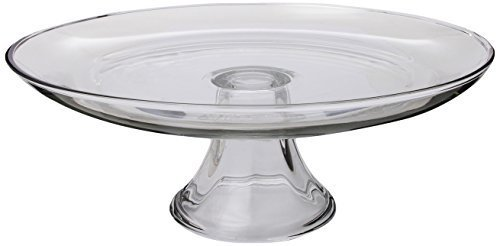 Anchor Hocking 12-Inch Glass Cake Plate, Tiered by Fox Run Craftsmen (Hocking Anchor Cake Plate)