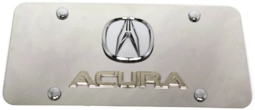 Amazoncom Acura Acura Front License Plate Frame Logo On Mirror - Acura license plate