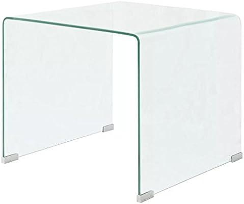 Vislone Multifuncional Mesa de Centro Mesa de Cristal Mesita de ...