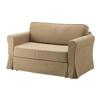 Welp Ikea HAGALUND - Two-seat sofa-bed cover, Idemo beige: Amazon.co.uk TU-44