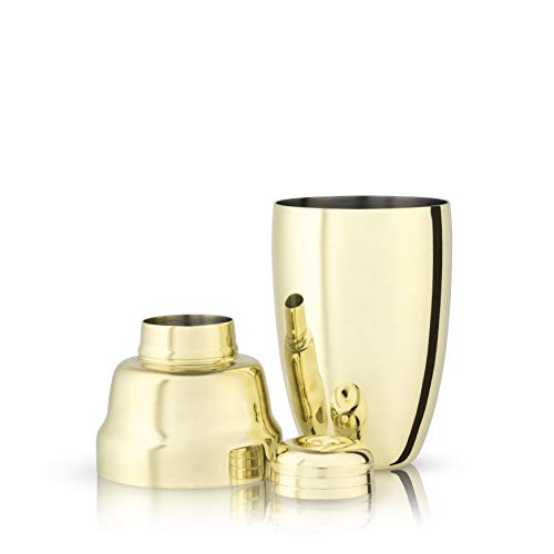 Gold Heavyweight Cocktail Shaker ()