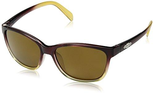 (Suncloud Dawson Polarized Sunglasses, Brown Fade, Sienna Mirror)