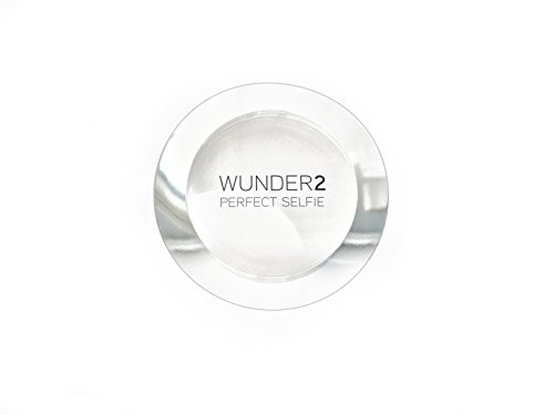 Wunder2 PERFECT SELFIE Makeup Setting Powder HD Photo Finishing Pressed Compact Face Powder Mattifies Skin, Matte One…