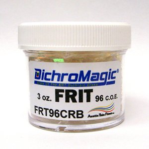 3 Oz Dichromagic Frit On Clear - 96 Coe