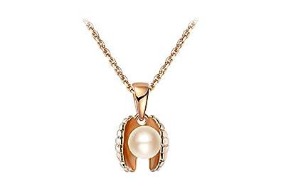 Kette mit perle aus muschel