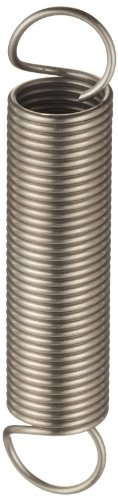 - Extension Spring, 316 Stainless Steel, Inch, 0.5
