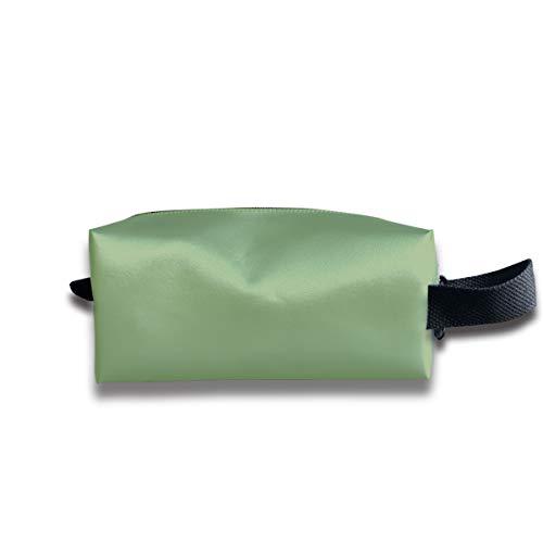 - LIUYAN Toiletry Travel Bag Asparagus Solid Color Cosmetic Bag for Men Women Teens