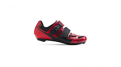Giro Apeckx II Cycling Shoes Bright Red/Black 43 (Bike Shoes Mens Red)