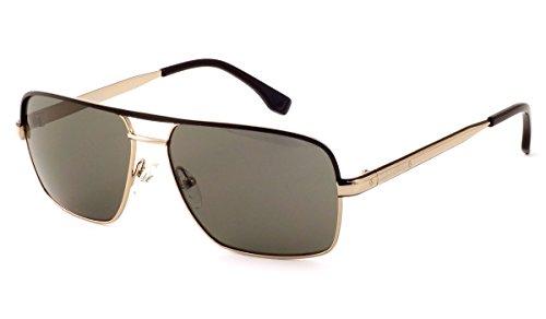 Harley-Davidson Official Designer Sunglasses HDX866-COG in Cognac Frame & Grey - Cog Sunglasses