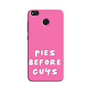 Cover It Up Pies before Guys Hard Case For Xiaomi Redmi 4 - Pink