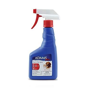 Adams Plus Flea and Tick Spray kills adult fleas, flea eggs, flea larvae, ticks and repels mosquitoes. Flea eggs and larvae sprayed with Adams Plus Flea and Tick Spray will not grow into adults. Adams Plus Flea and Tick Spray combines the adu...